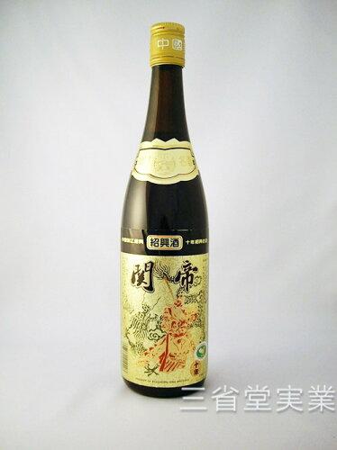 関帝陳年10年花彫酒 [金ラベル] 17度 600ml×12本 SK0203 ...