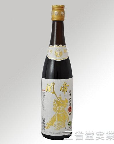 関帝陳年15年花彫酒 [白ラベル] 17度 600ml×12本 SK0012 ...