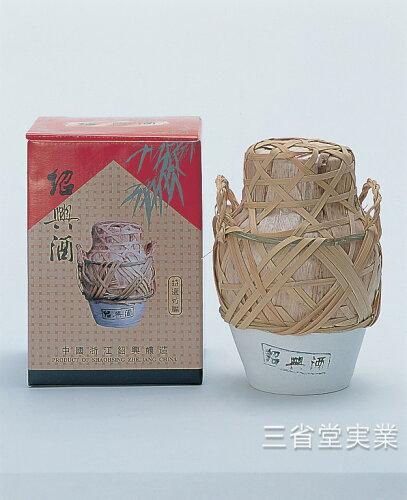 特選竹編紹興酒 [壺] 17度 1L×6本 SK0228 1027-0021