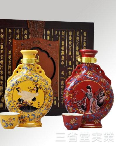 越王台陳年 30年・25年 花彫酒 (壷) 300ml 15度 2本セット×8...