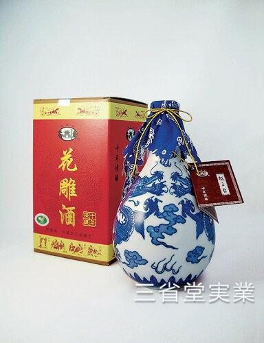 越王台陳年10年花彫酒 [白磁] 16度 500ml×12本 SK0310 14...