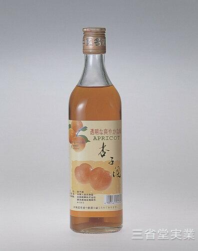 杏子酒 14度 600ml×12本 SK0125 4245-2010