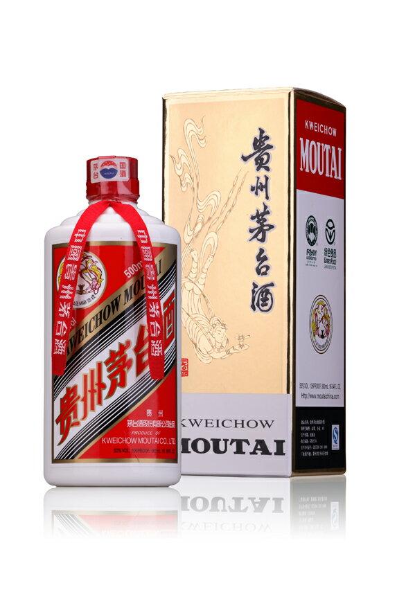 【送料無料(本州限定)・代引不可】貴州茅台酒(キシュウマオタイシュ) 飛天牌 53度 500ml