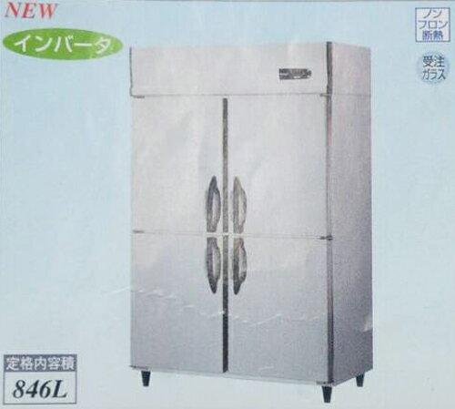 【新品・送料無料・代引不可】大和冷機 業務用 縦型冷蔵庫 423YCD-EC W1200×D650×H1905(mm):三省堂実業