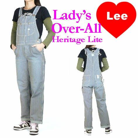 Lee (リー) レディース オーバーオール/サロペット -ヒッコリーストライプ- LL0255/Heritage Lite ...