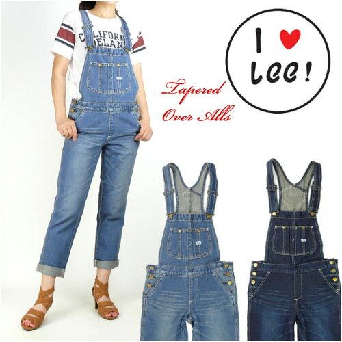 Lee (リー) -Lady's- テーパードオーバーオール/HERITAGE LITE LL1154 lp-ca