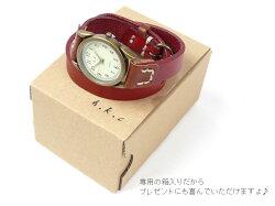 HawkCompany(ホークカンパニー)2重巻・ブレスウオッチ/時計