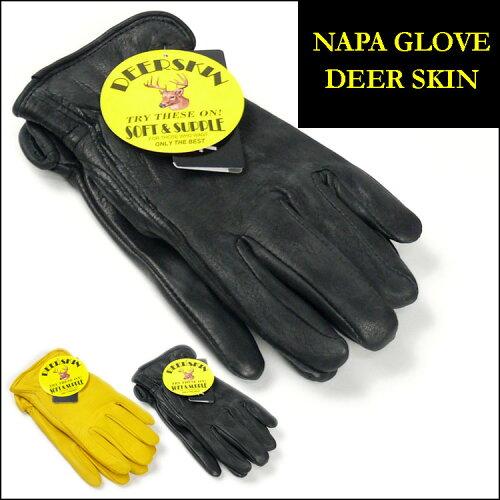 NAPA GLOVE (ナパグローブ)DEERSKIN LEATHER GLOVE-ディアスキンレーサーグローブ/...
