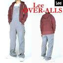 Lee リー メンズ オーバーオール OVER ALL ヒッコリーストライプ ダンガリーズ LM42 ...