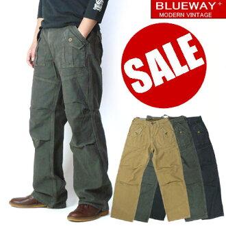 BLUEWAY (blue WA) M1178-Baker Pants (Baker pants)-