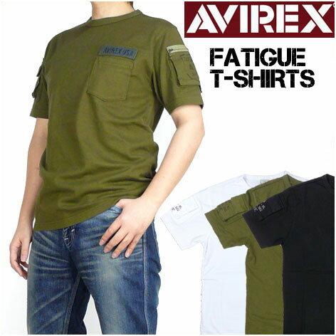 AVIREX (アビレックス) FATIGUE T-SHIRTS -半袖ファティーグTシャツ- 6123036【smtb...