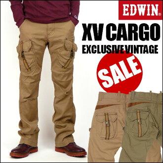 D EDWIN (Edwin ) KV452 XV-FUNCTION 3D CARGO PANTS/3 cargo pants - EXCLUSIVE VINTAGE-