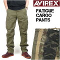 AVIREX(���ӥ�å���)FATIGUECARGOPANTS-�ե��ƥ������������ѥ��-6166110/6166111������̵����