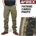 AVIREX(���ӥ�å���)FATIGUECARGOPANTS-�ե��ƥ������������ѥ��-6166110/6166111������̵����