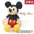 EDWIN★Disney-デニムミッキーマウス-ぬいぐるみQNAK10