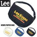 LeeリーニュースペーパーバッグデニムショルダーバッグトートバッグメンズレディースユニセックスLA0301