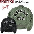 AVIREXアビレックスレディースMA-1LOGOMA1ロゴMIL-J-8279EUSAFミリタリージャケット6202051