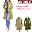 【30%OFFセール】 AVIREX/Lady's (アビレックス) -リメイク ポケット ミリタリー ワンピース- 6265019 【送料無料】