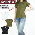 セール!AVIREXアビレックスレディースファティーグTシャツ半袖ミリタリーTシャツFATIGUET-SHIRTS6223026