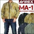 AVIREX(アビレックス)MA-1MULTIPOCKETSTENCIL-マルチポケットステンシルMA-1-6162146【送料無料】mtj-ha