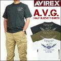 アビレックスAVIREXメンズTCクルーネック半袖Tシャツ/A.V.G.6173368プレゼントギフト