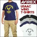アビレックスAVIREXメンズ半袖Tシャツ/USAACWING6173349プレゼントギフト
