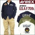 アビレックスAVIREXメンズアメリカ空軍70周年記念モデル長袖カーキシャツUSAF70thANNIVERSARY6175148【送料無料】
