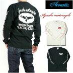 ACOUSTIC アコースティック メンズ Tシャツ 長袖Tシャツ/APACHE MOTOCYCLE AC7313 プレゼント ギフト