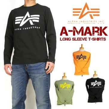 ALPHA アルファ メンズ Tシャツ ミリタリー 長袖Tシャツ A-MARK TC1240-0xx