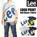Lee リー メンズ Tシャツ ロゴプリント半袖Tシャツ LT2329