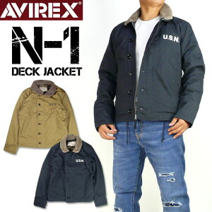 AVIREX アビレックス N-1 デッキジャケット N-1 DECK JACKET PLANE メンズ ミリタリージャケット 6182174