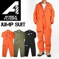 AVIREXアビレックスAVIREXFLYER'SJUMPSUITジャンプスーツオールインワンALLINONEミリタリーツナギメンズ6116124