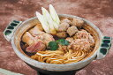 名古屋コーチンと八丁味噌鍋の相性抜群。歯ごたえとコクをお楽しみください。招福亭のベストセ...