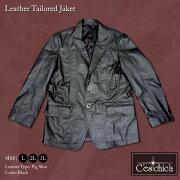 ■Cestchica-セシカ-■レザージャケット≪大きいサイズの革ジャン,テーラード,L,2L(XL),3L(XXL)≫