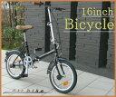 16インチ折りたたみ自転車(折り畳み自転車 折畳み自転車)16インチ折りたたみ自転車(折り畳み自転車 折畳み自転車)