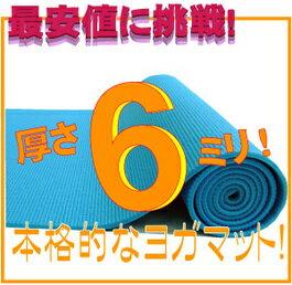 【最安値挑戦!】【レビュー書き込みでさらに専用メッシュケースをプレゼント!】厚さ6mm ヨガマ…