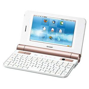 【送料無料】PC-Z1-W シャープ (SHARP) モバイルインターネットツール NetWalker ホワイト系
