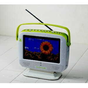 LDW7V-SG ドウシシャ RAPHAIEラファイエ7型防滴ワンセグ液晶テレビ お風呂TV