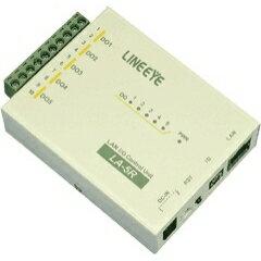 【OFFクーポン配布中】LA-5R ラインアイ LAN接続 デジタルIOユニット:サンテクダイレクトショッピング