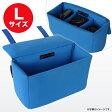 【送料無料】一眼レフ対応 インナーカメラバッグ(Lサイズ) そのままバッグに入れられるインナーバッグ インナーケース ソフトクッションボックス NEO2-BG019LLB【ブルー】【あす楽】
