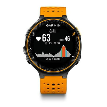 【割引クーポン配布】【5年延長保証購入可能】【日本語版】【正規品】 37176J-GARMIN GARMIN ガーミン ForeAthlete 235J Black Orange 37176J フォアアスリート235J GPS |ランニングウォッチ ランニング 心拍計 腕時計 ランニングウオッチ 010-03717-6J