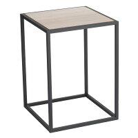 03325 サイドテーブル スクエア ブラック tower タワー  テーブル 黒 インテリア おしゃれ 角 カントリー 小型 ナイトテーブル 北欧 ミニテーブル コーヒーテーブル ソファーテーブル ソファ ソファー サイド モダン 03325