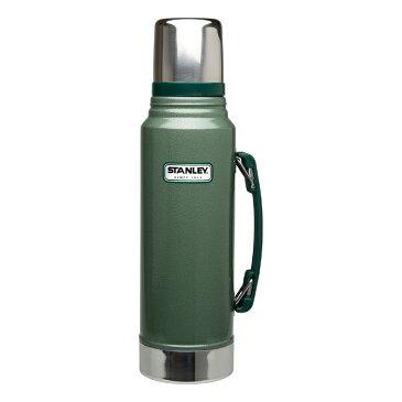 【割引クーポン配布】STANLEY スタンレー クラシック真空ボトル 1L コップ付き 保冷 保温 水筒 グリーン 01254-046 7STCBG1 【あす楽/土日祝対象外】