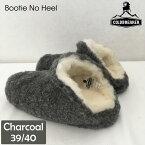 COLD BREAKER コールドブレーカー ルームシューズ CB-BNH-CH-3940 Booties No Heel charcoal 39/40 ルームウェア もこもこ 冬 【あす楽/土日祝対象外】
