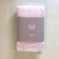 kontex(コンテックス) one size towel ワンサイズタオル フェイスタオル ピンク PI 40x100cm コットン100% 日本製 今治タオル 51278-002