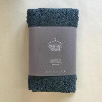 kontex(コンテックス) one size towel ワンサイズタオル フェイスタオル ブルーグリーン BGR 青緑 40x100cm コットン100% 日本製 今治タオル 51278-042