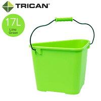 TRICAN トライカン TRICAN Fashion トライカンファッション 三角バケツ 17L ライムグリーン 黄緑色 W420xD300xH285mm 13311