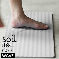 soil/ソイル soil (ソイル) バスマット ウェーブ B255