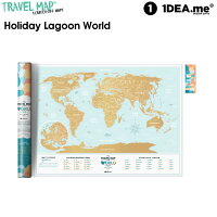 1DEA.me(アイデアドットミー) Travel Map Holiday Lagoon World IDEA004