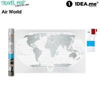 1DEA.me(アイデアドットミー) Travel Map Air World IDEA006